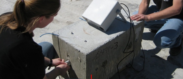 Nondestructive Evaluation (NDE) of Concrete with UPV